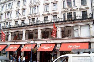 Hamleys Store Front Regent Street London