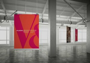 V&A & Kuoni's posters in warehouse