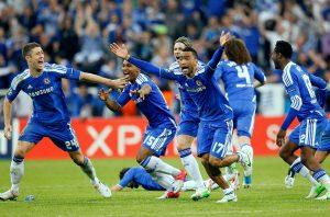 CFC Team scoring a goal