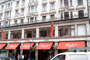 Hamleys Store Front Regent Street London